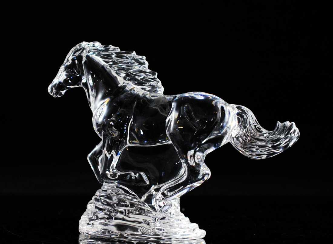 Waterford Crystal Horse Figurine