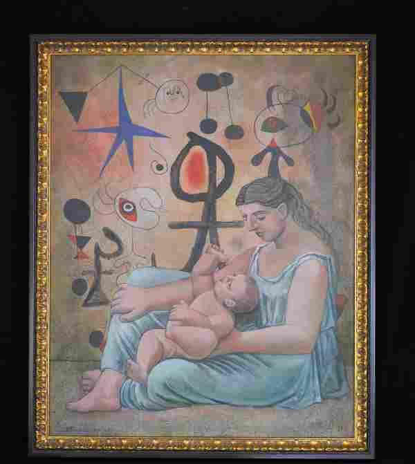 """Emilo Falero """"Hope"""" Painting"""