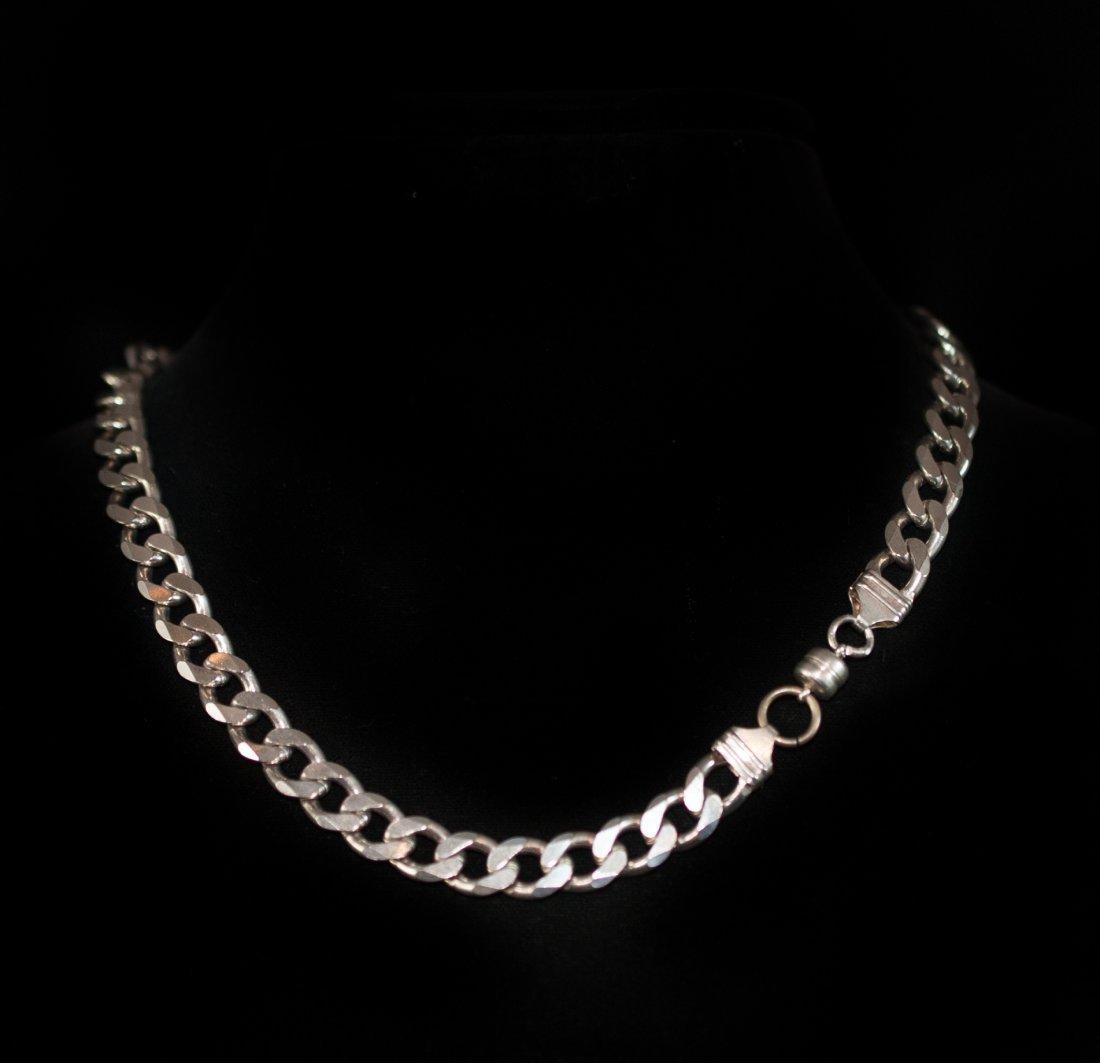 Silver Cuban Link Chain