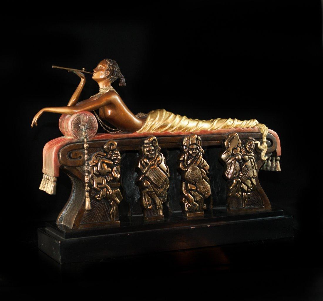 "Erte ""Daydreams"" Bronze"