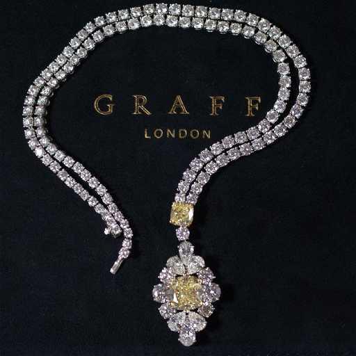 Graff Diamond Necklace See Sold Price