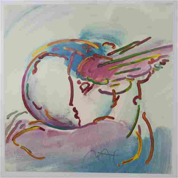 """""""I Love the World"""" Lithograph by Peter"""
