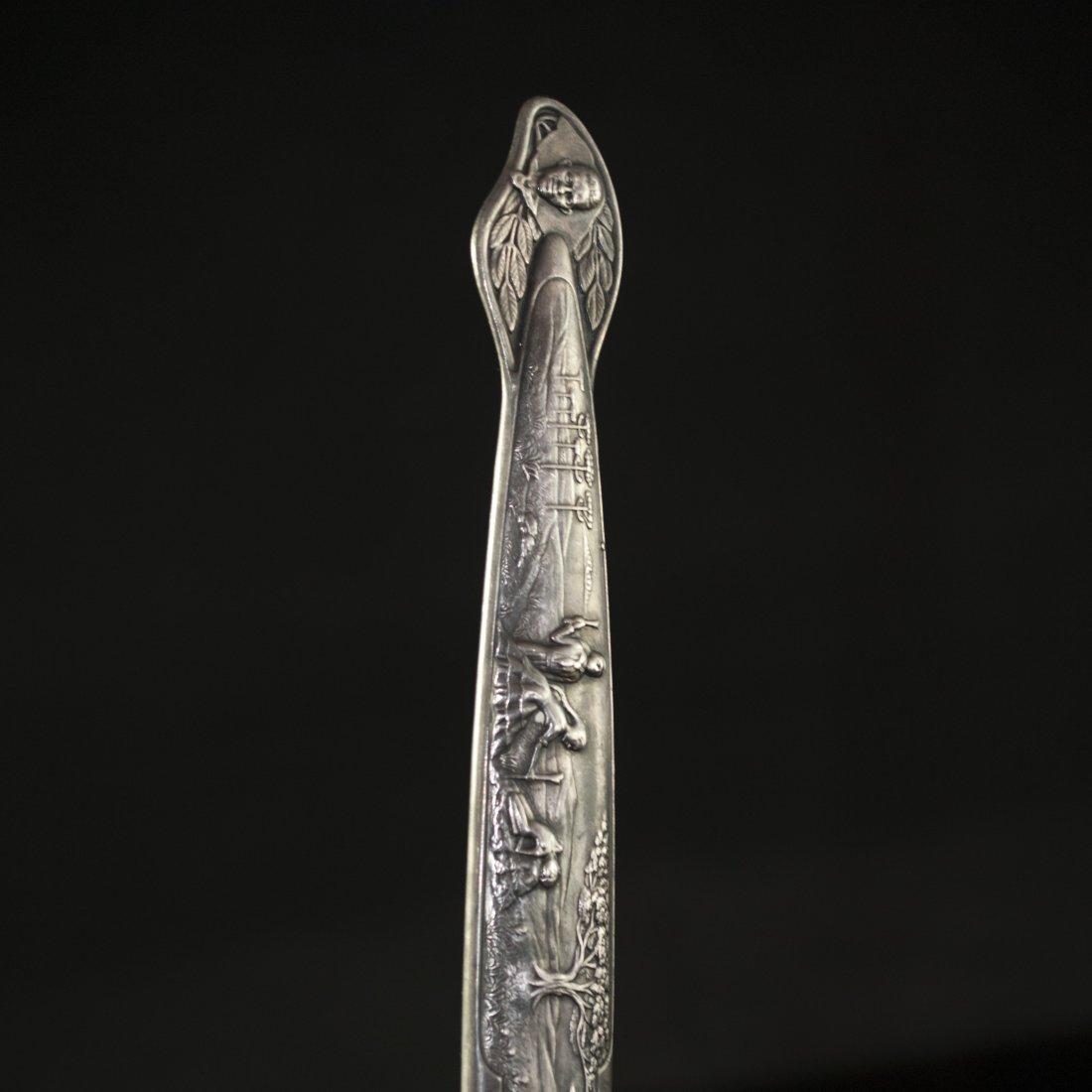 Eberle Inox Silver Gaucho Knife - 2