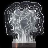 Daum & J.P. Demarchi Limited Edition Glass Sculpture