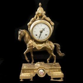 Dore Bronze Imperial Mantel Clock