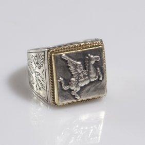 Konstantino Gold & Sterling Ring