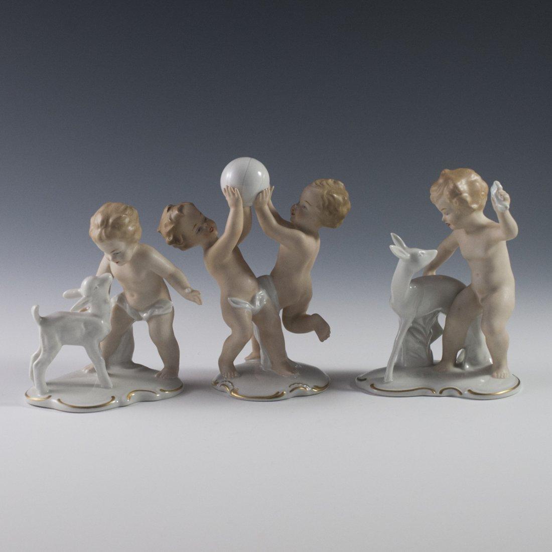 Wallendorf Porcelain Cherubs