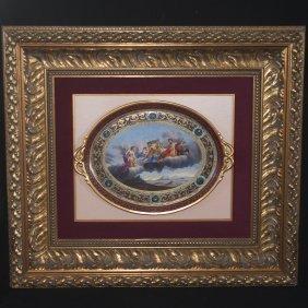 Royal Vienna Porcelain Platter