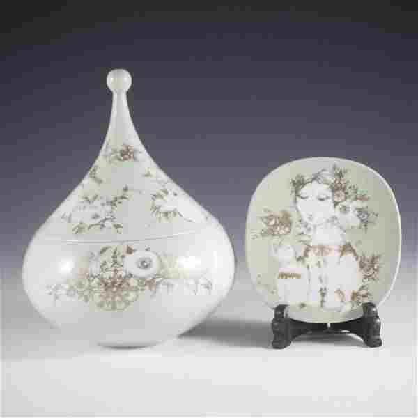 Rosenthal Bjorn Wiinblad Porcelain Set