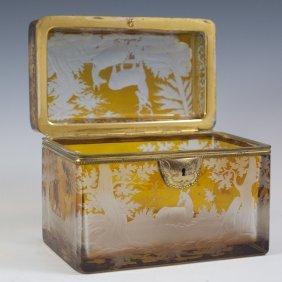 Amber Glass Box