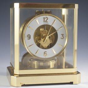 Jaeger-lecoultre Brass Atmos Mantle Clock