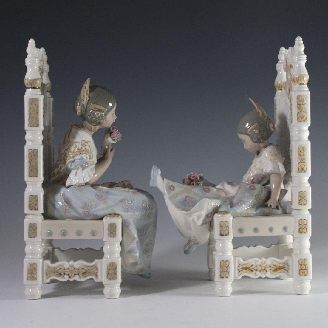 Lladro Porcelain Figurines - 2