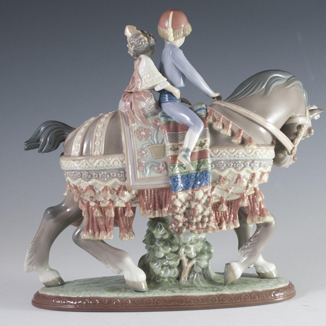 "Lladro ""Valencian Children on Horse"" - 4"