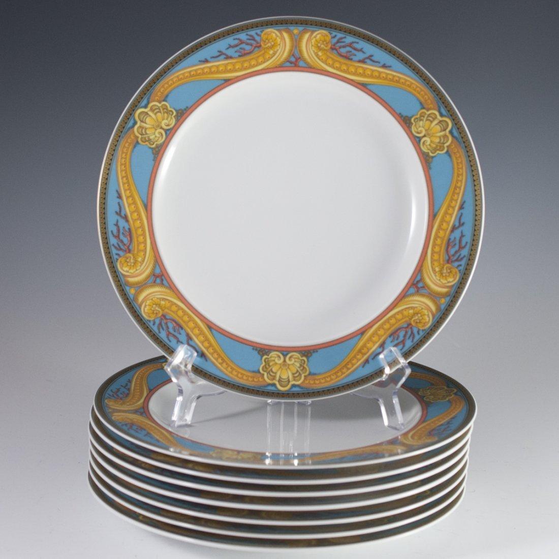 """Rosenthal Versace """"Les Tresors de la Mer"""" Dinner Plates"""