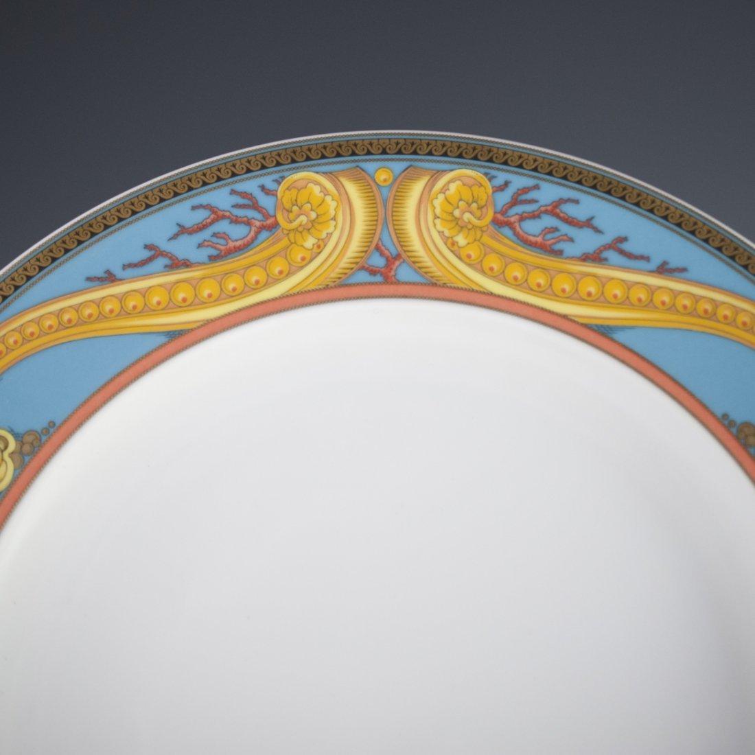 """Rosenthal Versace """"Les Tresors de la Mer"""" Dinner Plates - 2"""