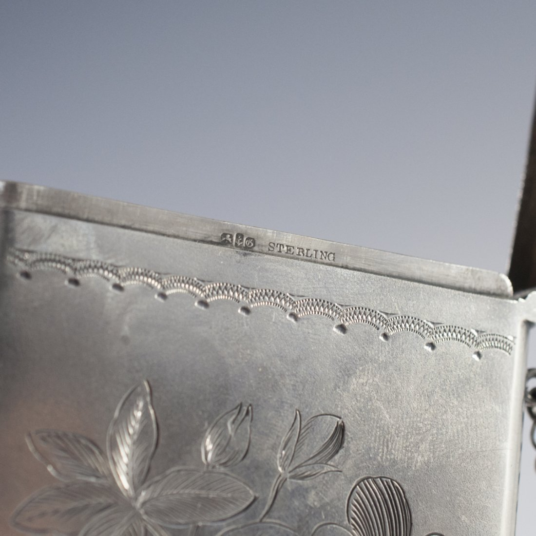 Gorham Sterling Card Holder - 3