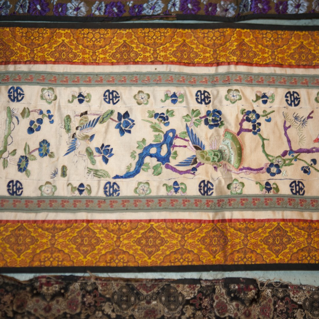 Chinese Silk Embroideries - 3