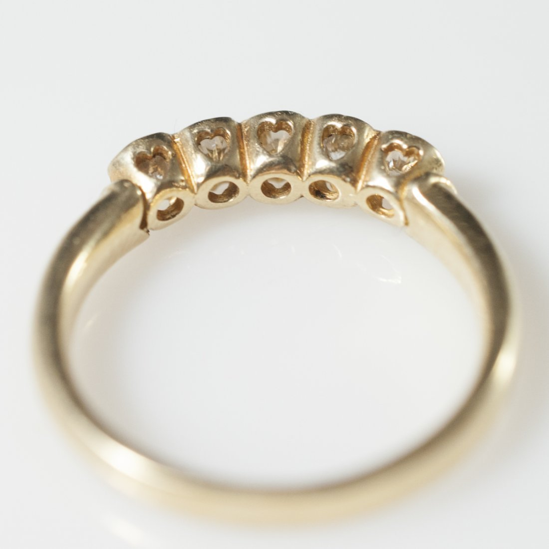 14kt Gold Diamond Ring - 2