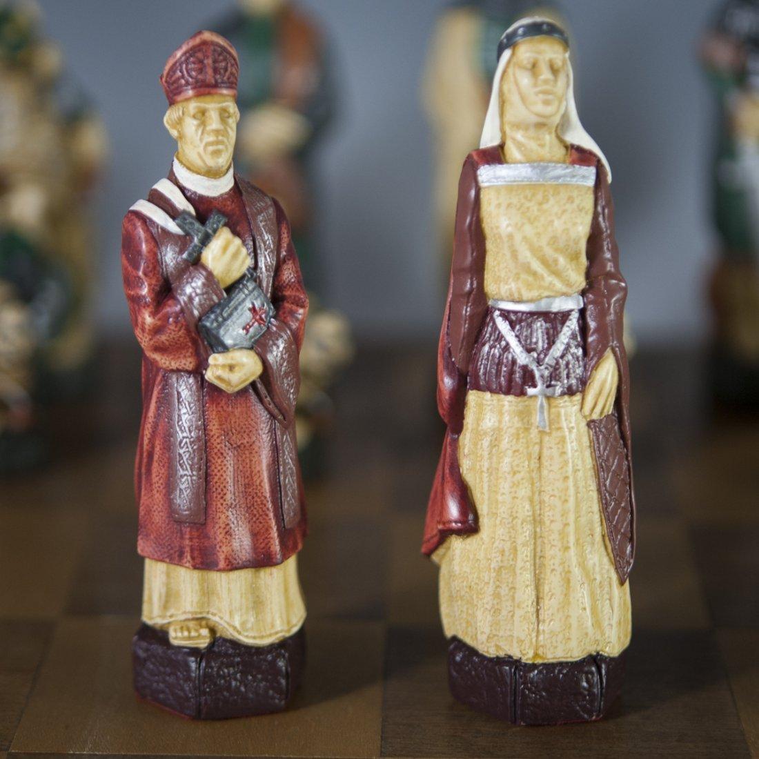 "Studio Anne Carlton ""The Crusades"" Chess Set - 6"