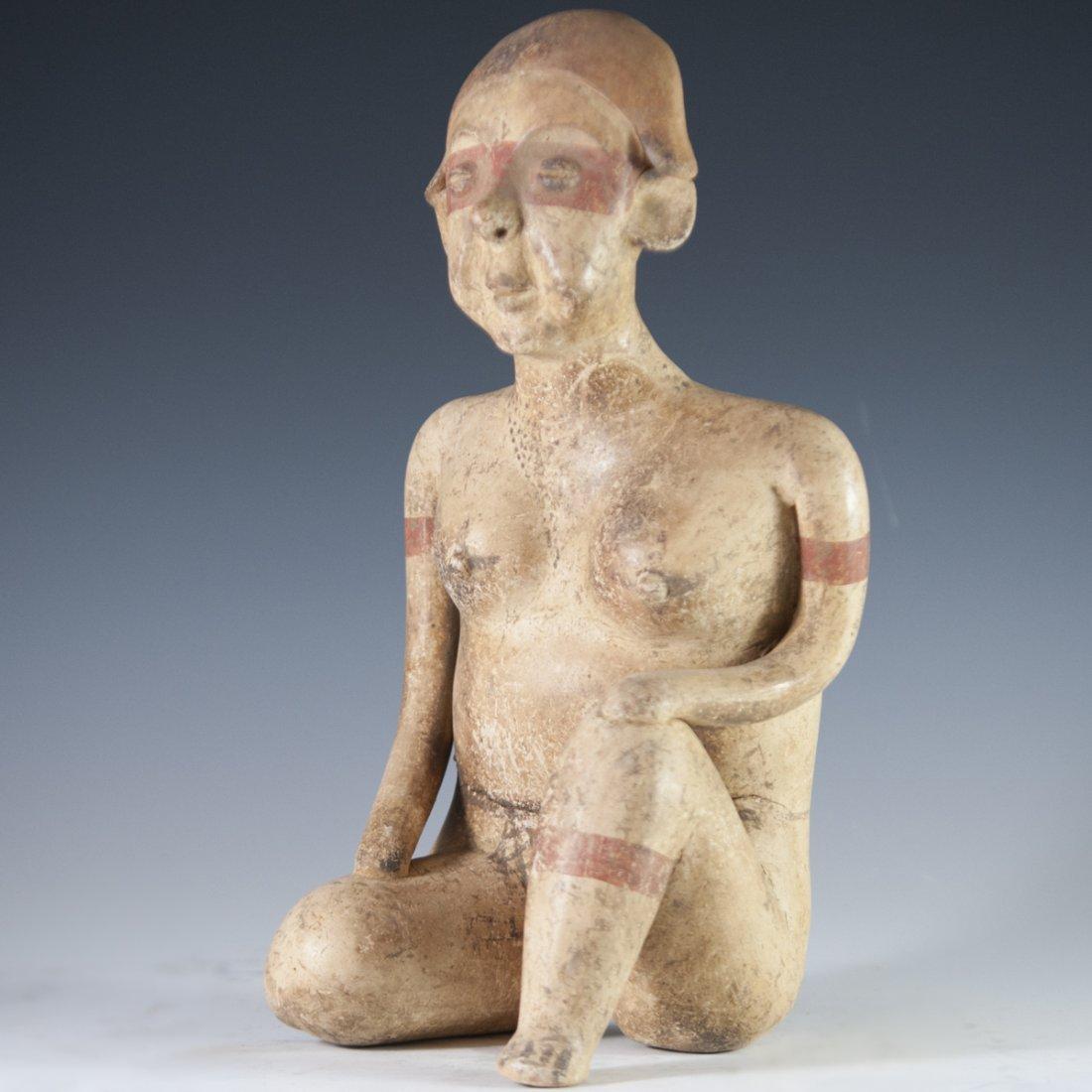 Probably Pre-Columbian Mayan Figurine
