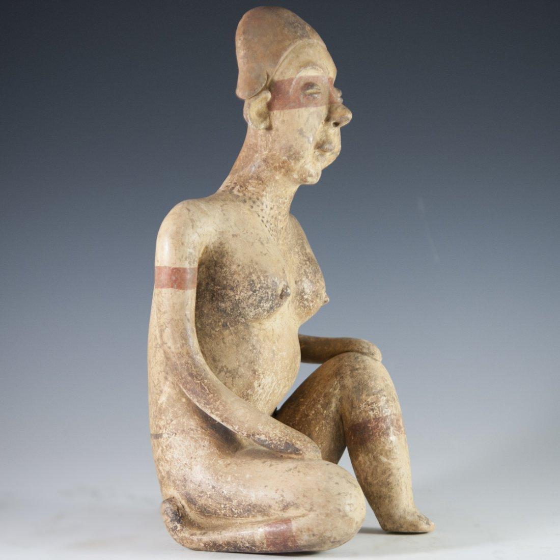 Probably Pre-Columbian Mayan Figurine - 4