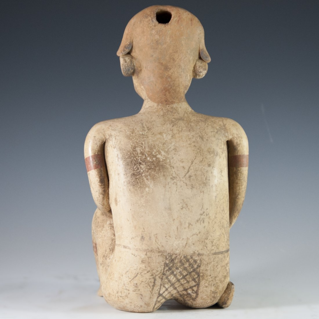 Probably Pre-Columbian Mayan Figurine - 5