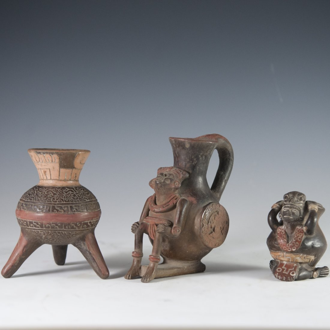 Probably Pre-Columbian Mayan Vessels