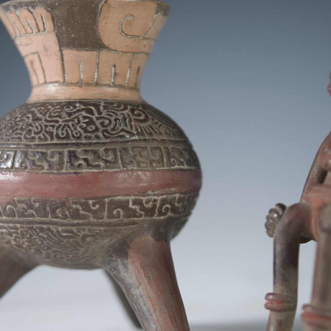 Probably Pre-Columbian Mayan Vessels - 4
