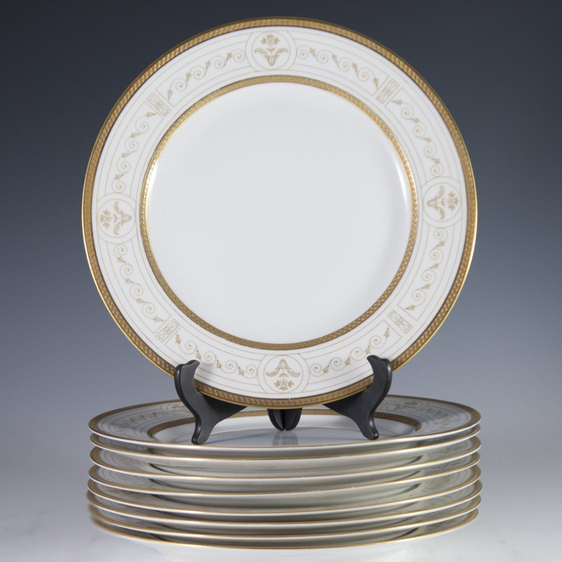 Rosenthal Continental Gilded & Enameled Dinner Plates