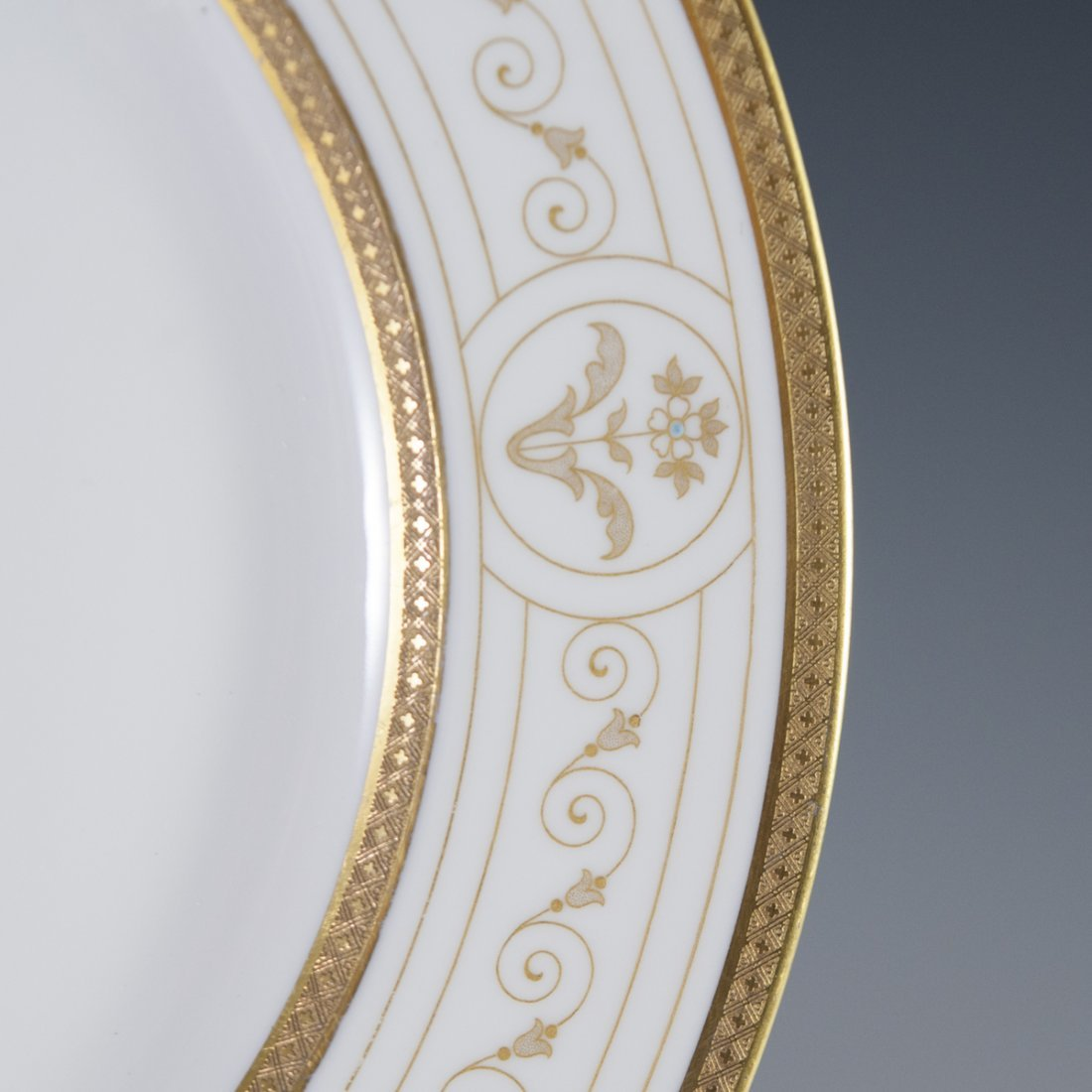 Rosenthal Continental Gilded & Enameled Dinner Plates - 5