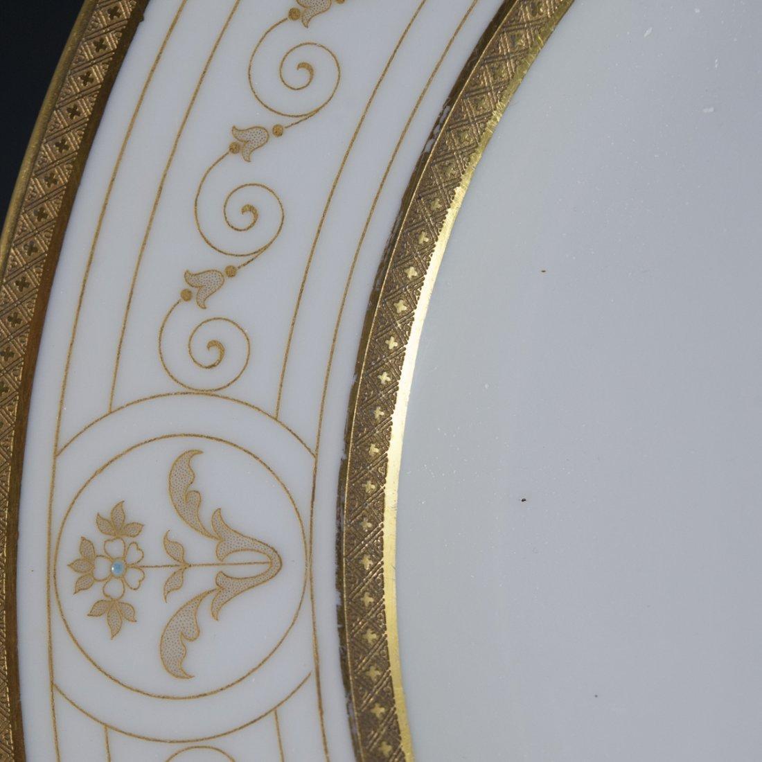 Rosenthal Continental Gilded & Enameled Dinner Plates - 6