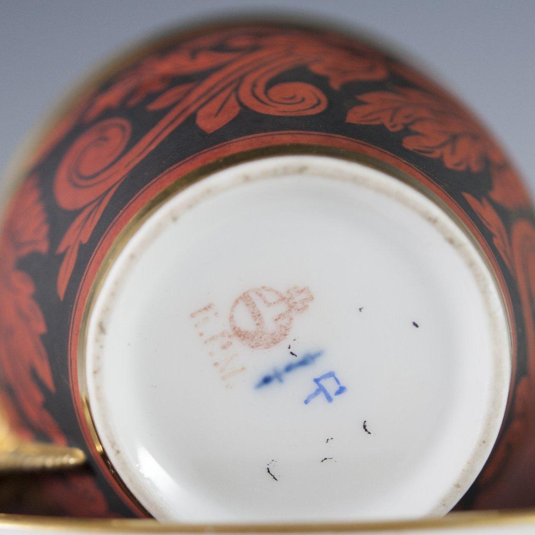 Antique KPM Porcelain Demitasse & Saucer - 3