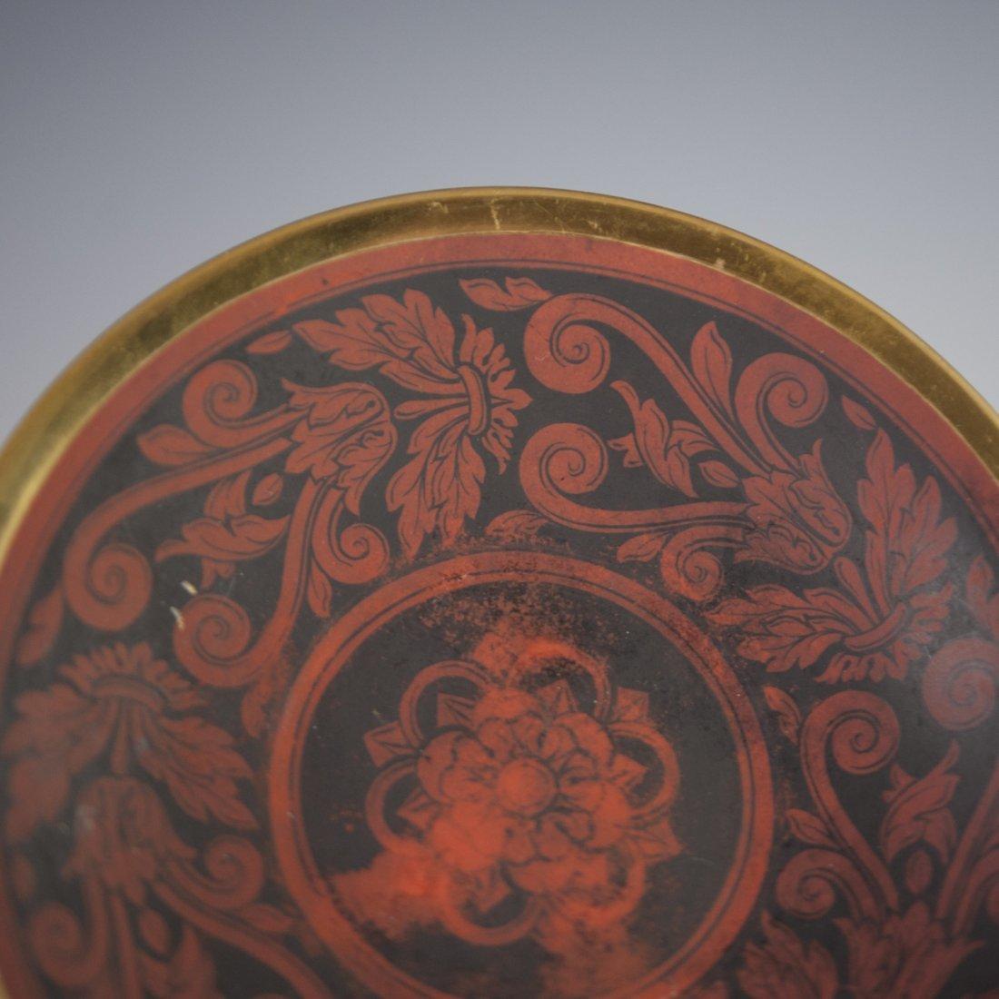 Antique KPM Porcelain Demitasse & Saucer - 5