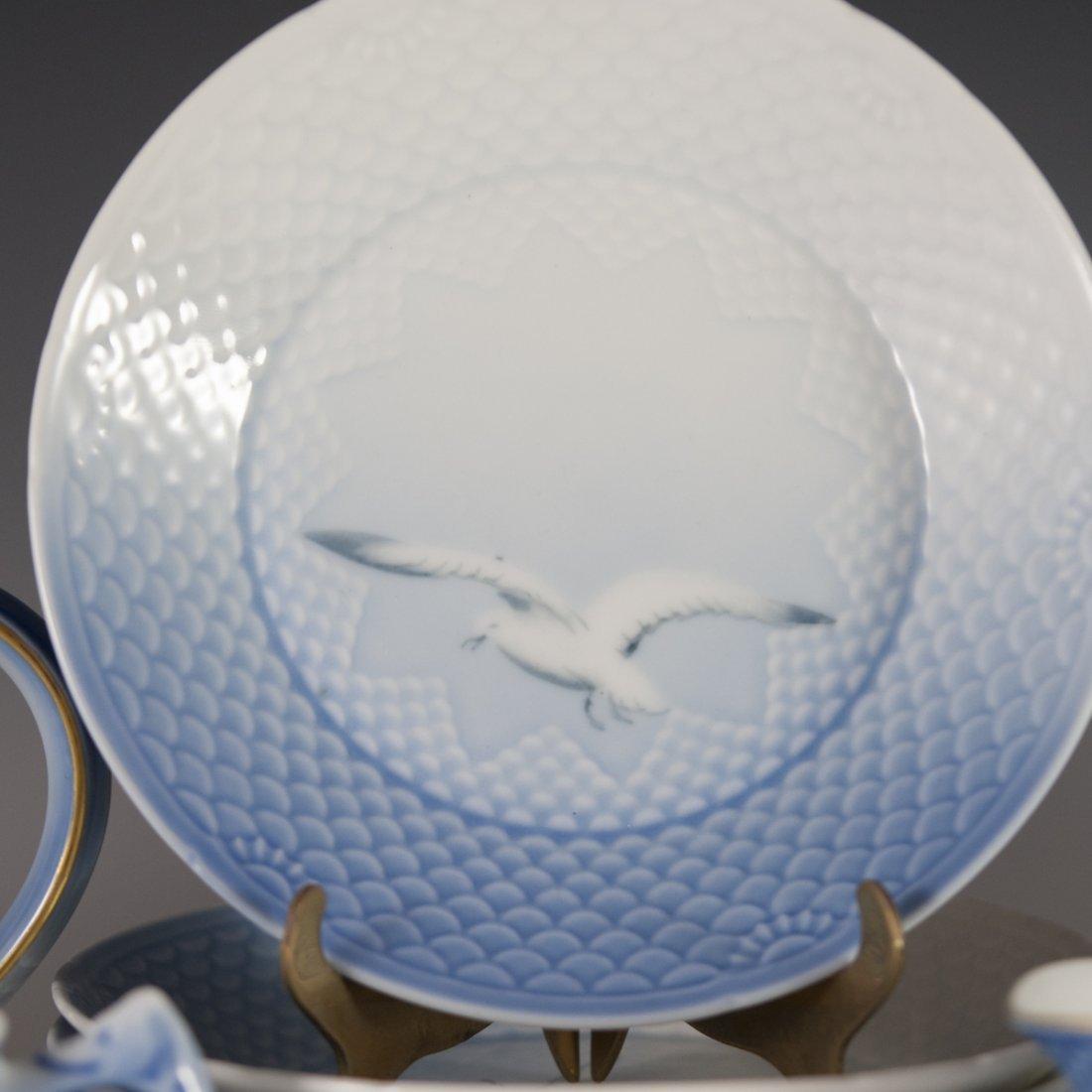 "Bing & Grondahl ""Seagull"" Pattern Porcelain Tea Set - 2"