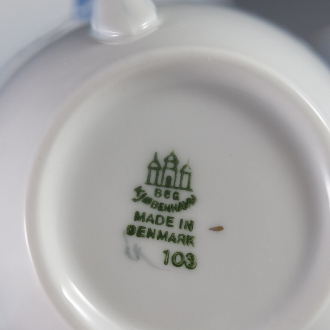 "Bing & Grondahl ""Seagull"" Pattern Porcelain Tea Set - 3"