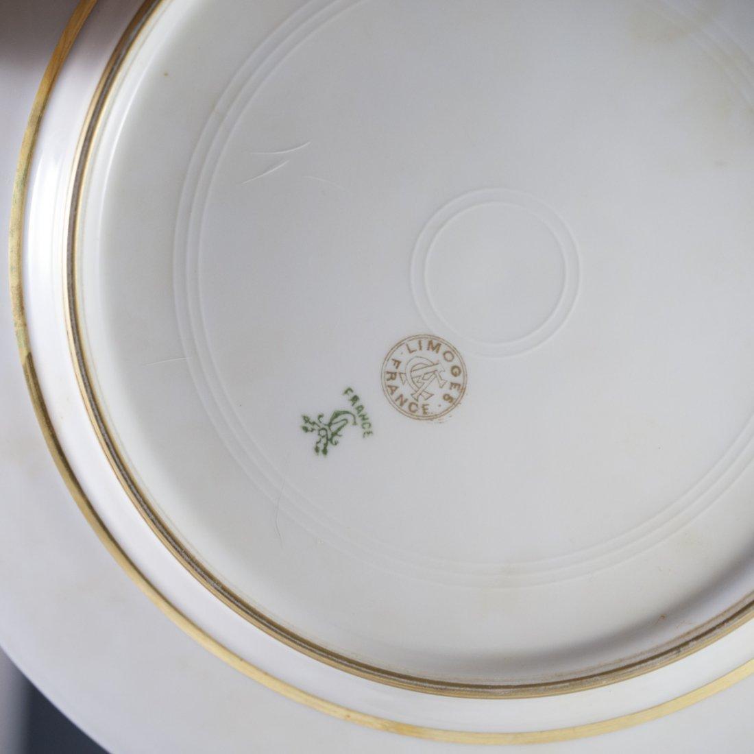Charles Ahrenfeldt Limoges Cobalt Plates - 3