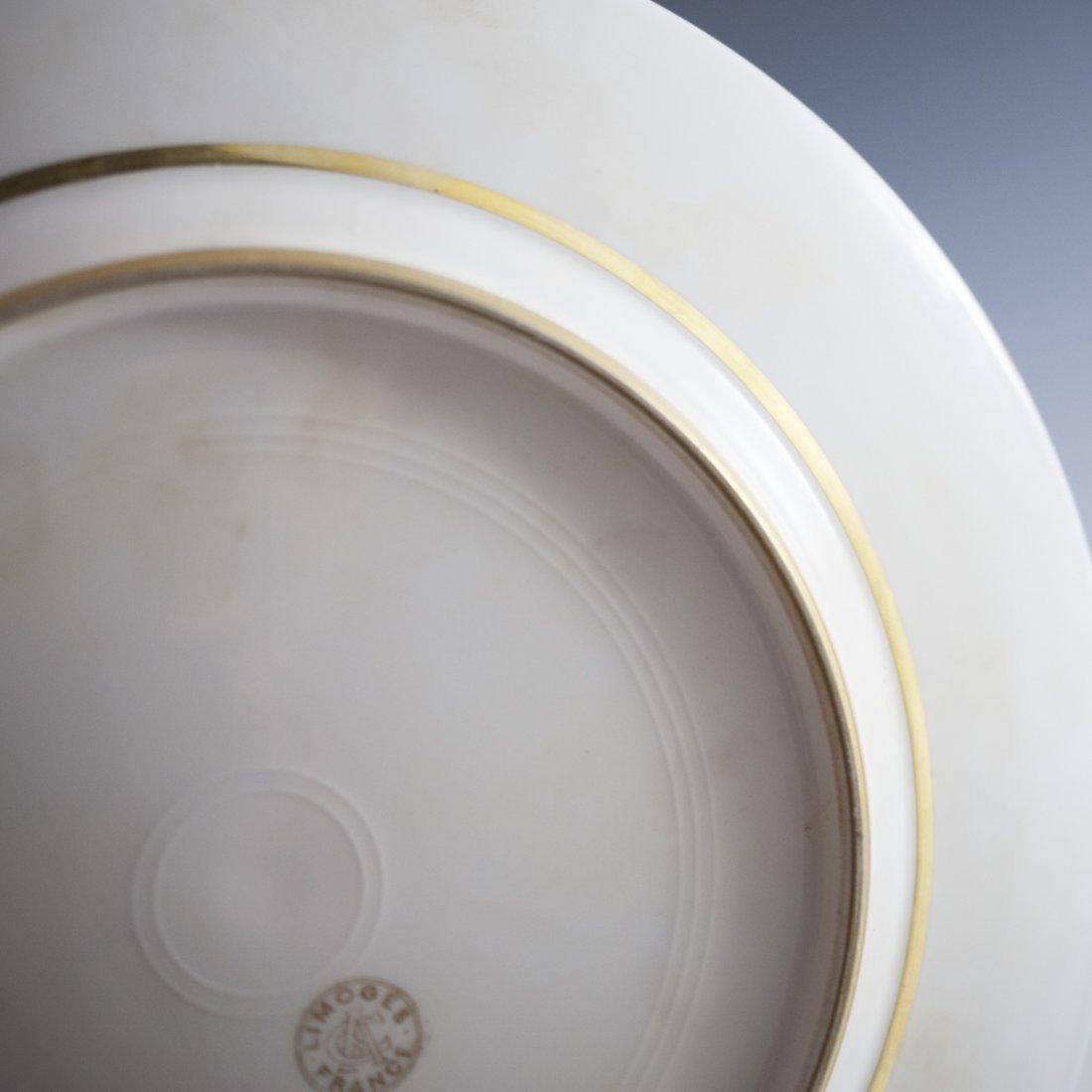 Charles Ahrenfeldt Limoges Cobalt Plates - 4