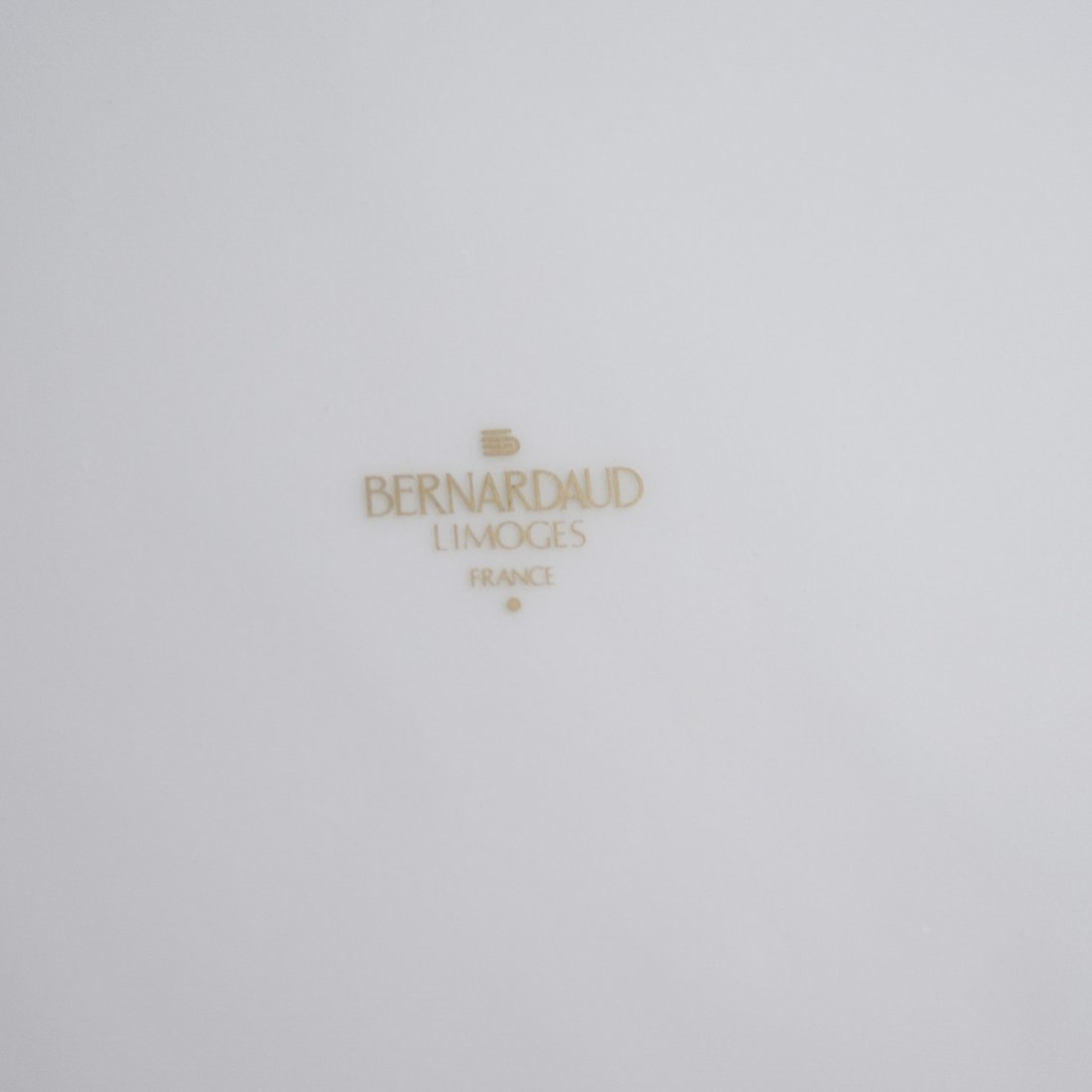 Bernardaud Limoges Porcelain Dinner Plates - 3