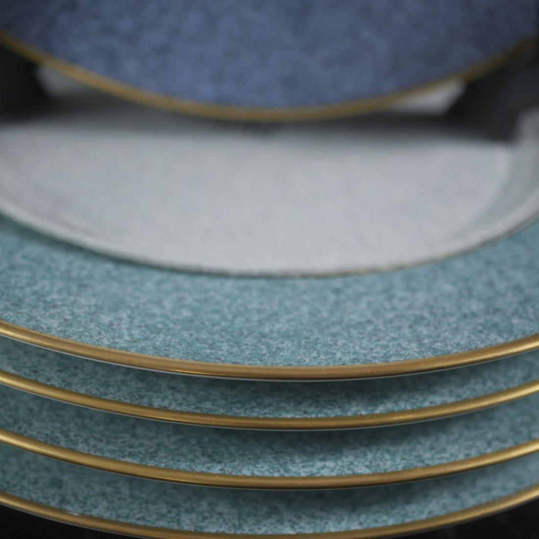 Bernardaud Limoges Porcelain Dinner Plates - 4