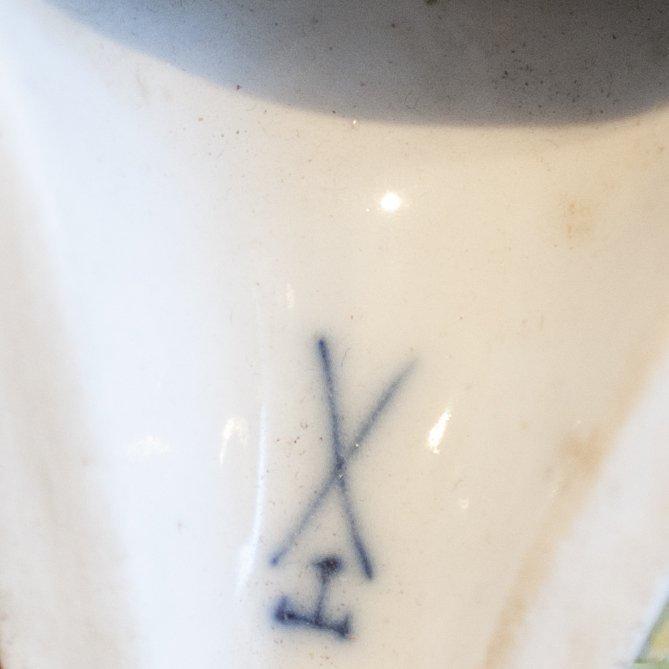 Pair of Meissen Porcelain Sconces - 3