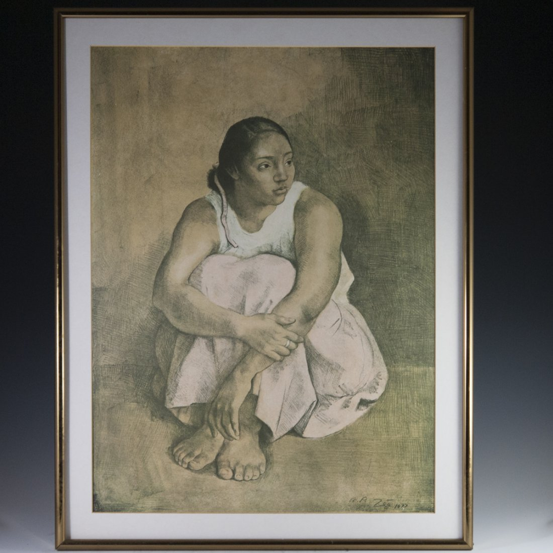 Francisco Zuniga (Mexican 1912-1998)