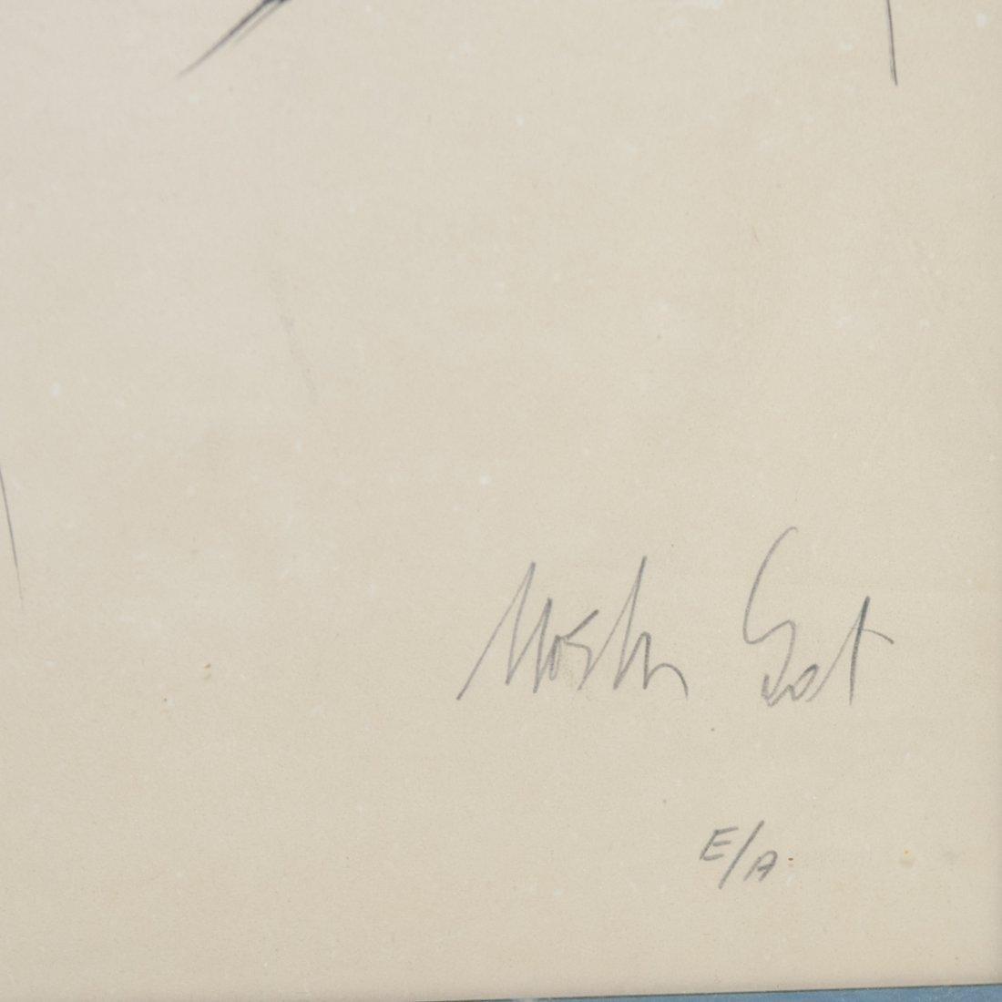 Moshe Gat (Israel b. 1935) Artist Proof - 3
