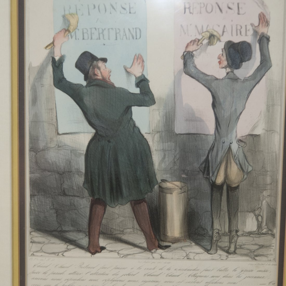 "Honore Daumier (French 1808-1879) ""Chaud! Chaud!"" - 2"