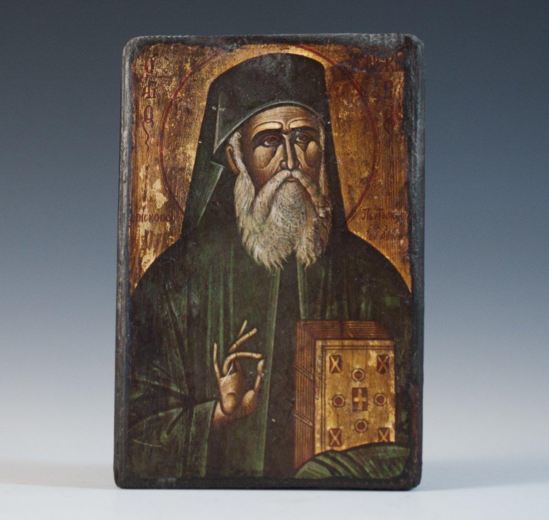 Religious Wood Icon