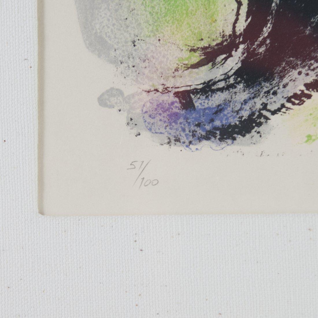 """Marc Chagall (Russian 1887-1985) """"Le Profil et L'enfant - 3"""
