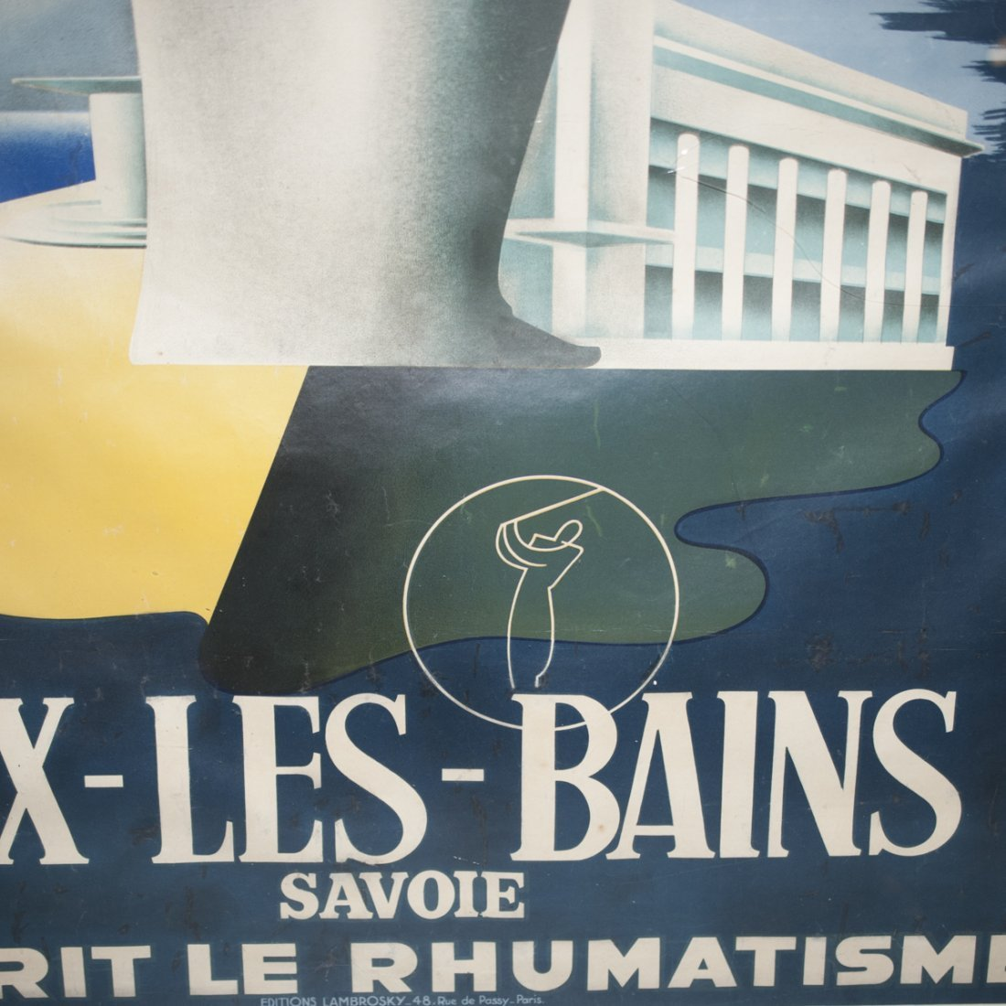 Aix Les Bains French Poster - 3