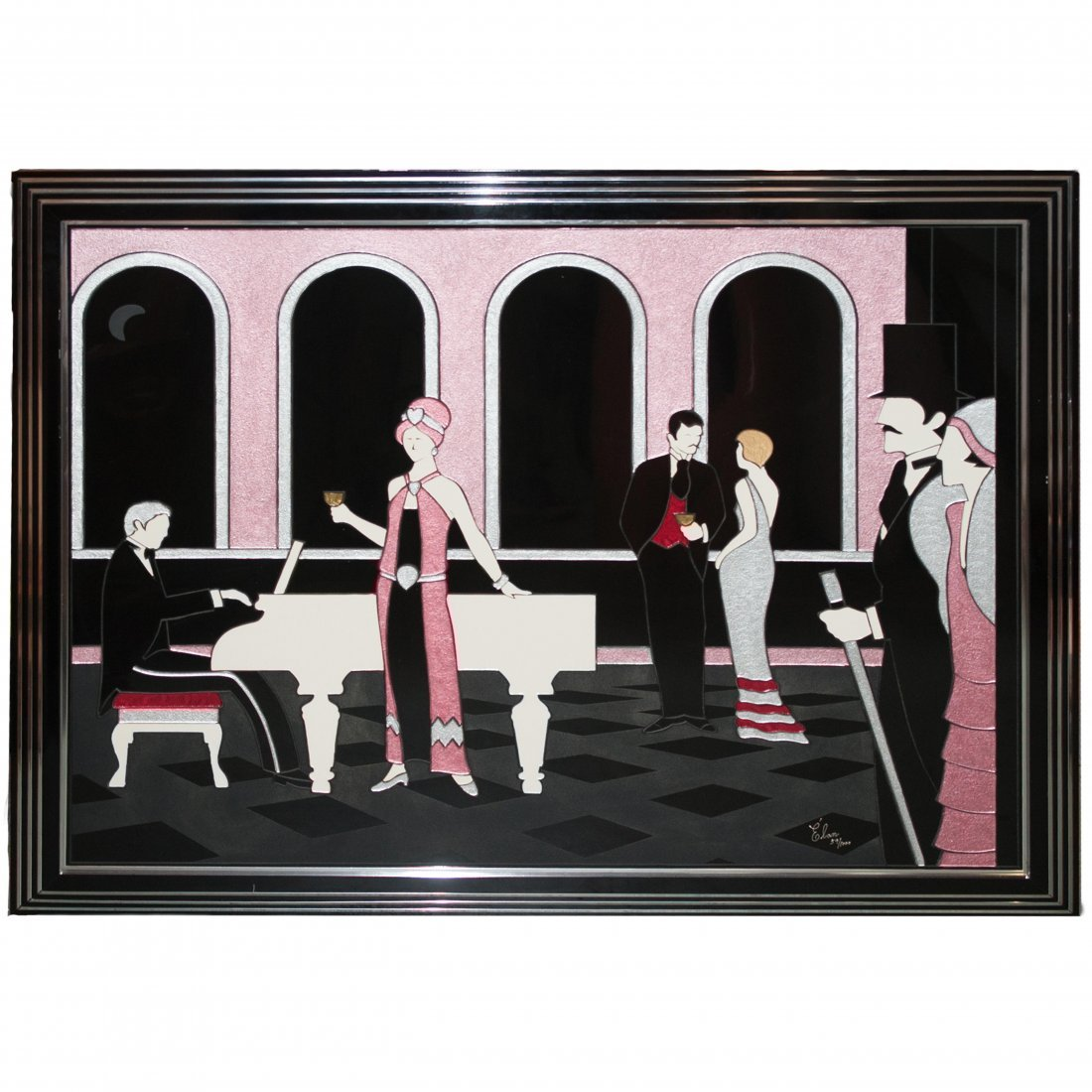 Elan Acrylic Painting