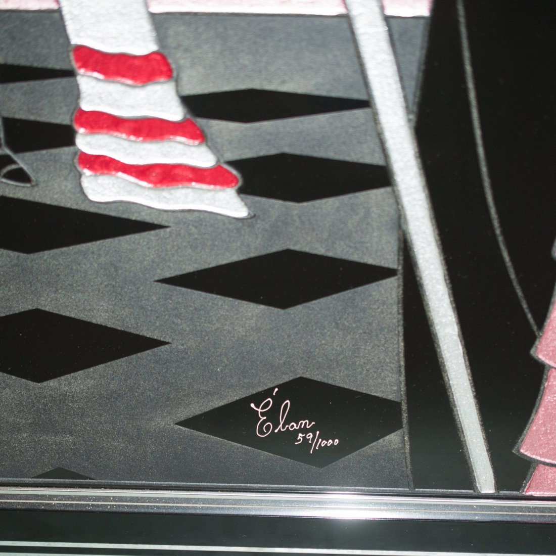 Elan Acrylic Painting - 2