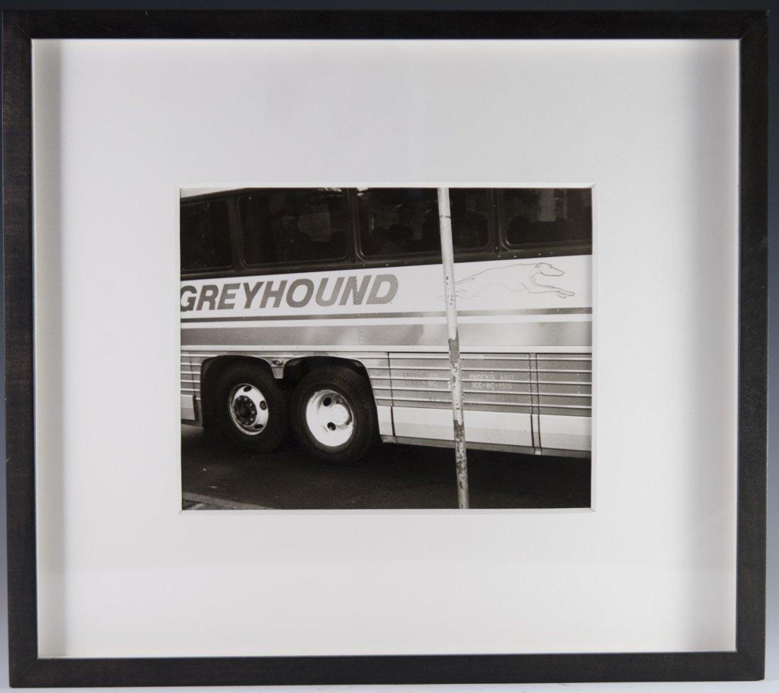 """Andy Warhol Polaroid """"Greyhound Bus"""""""