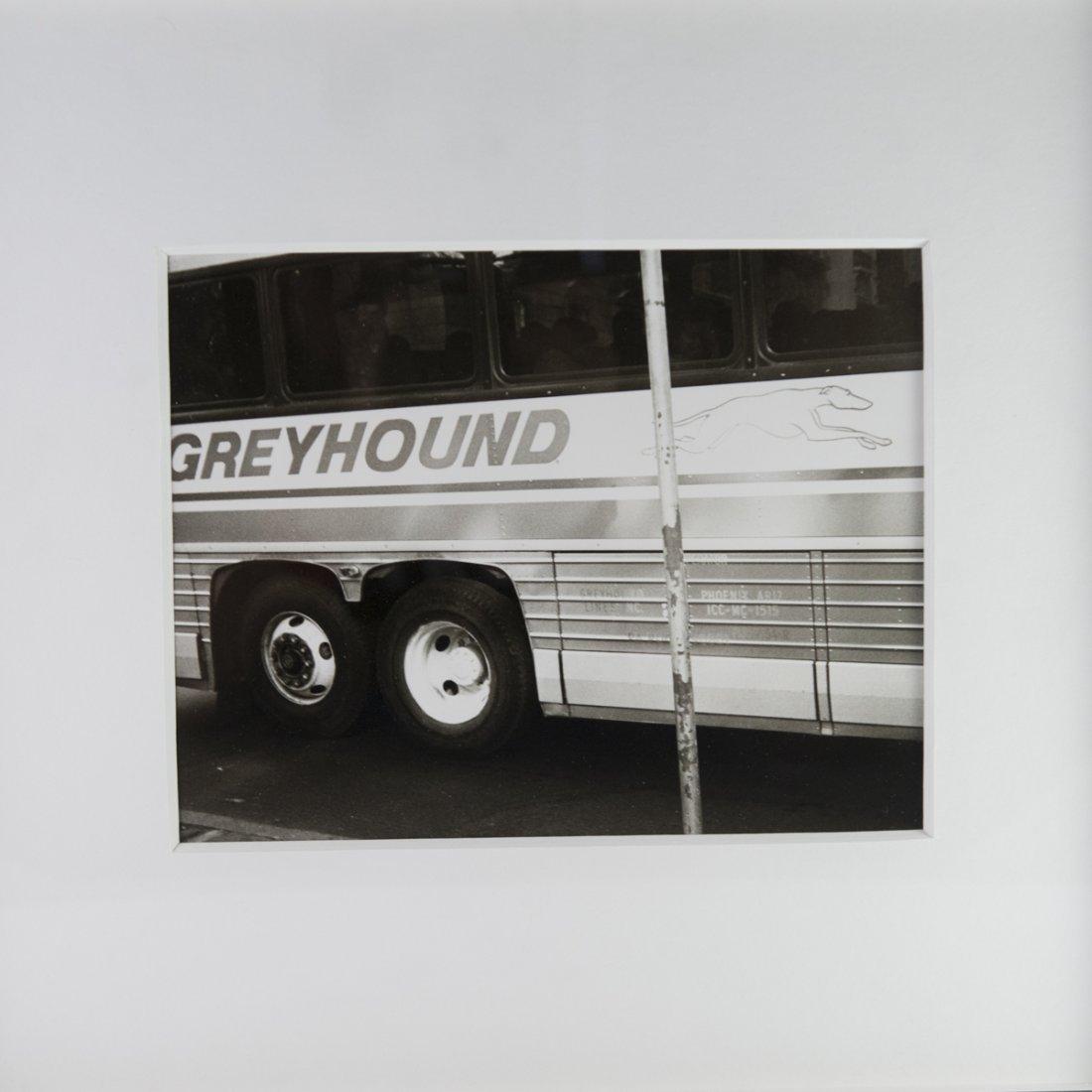 """Andy Warhol Polaroid """"Greyhound Bus"""" - 4"""